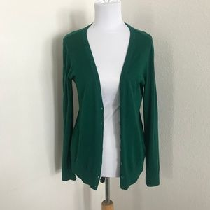 Forest Green Forever 21 Cardigan (size Medium)